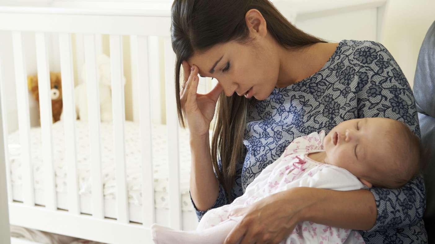 La depresión posparto es más severa si comienza en el embarazo o antes