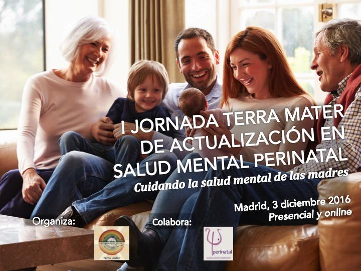 Comunicaciones libres en la I Jornada Terra Mater de actualización en Salud Mental Perinatal