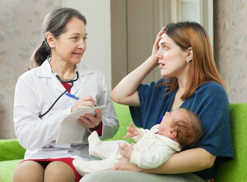 ¿Reconocen los pediatras los síntomas depresivos en las madres puérperas?