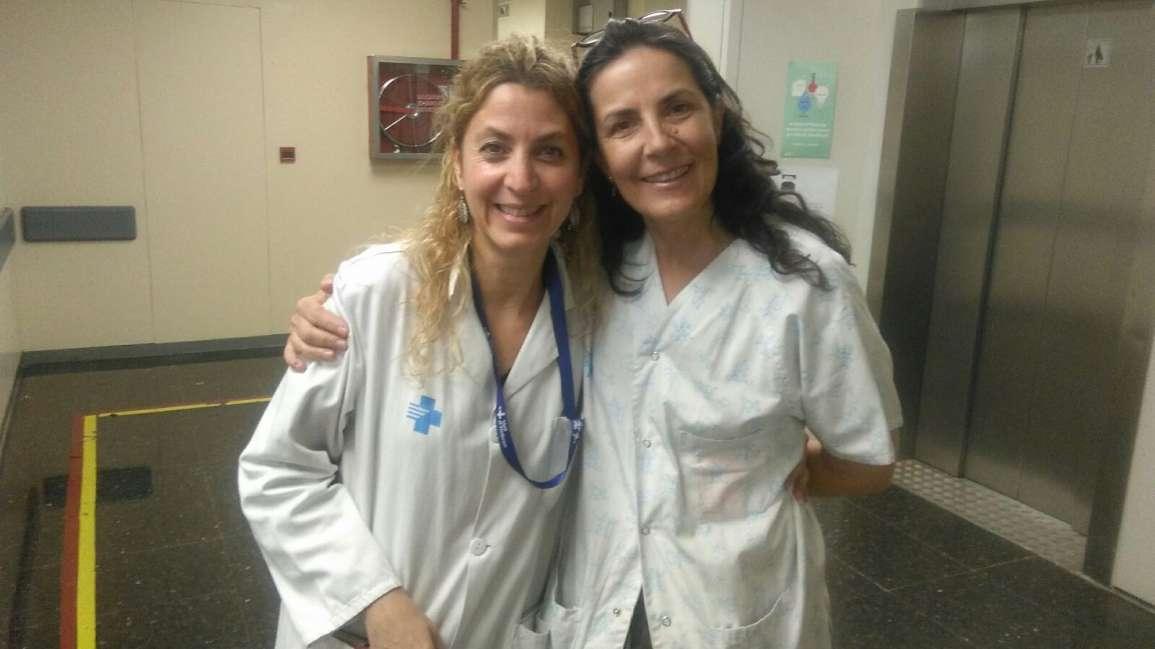Un día con Maria Emilia Dip y el equipo de psiquiatría de la maternidad del Hospital Vall d'Hebrón