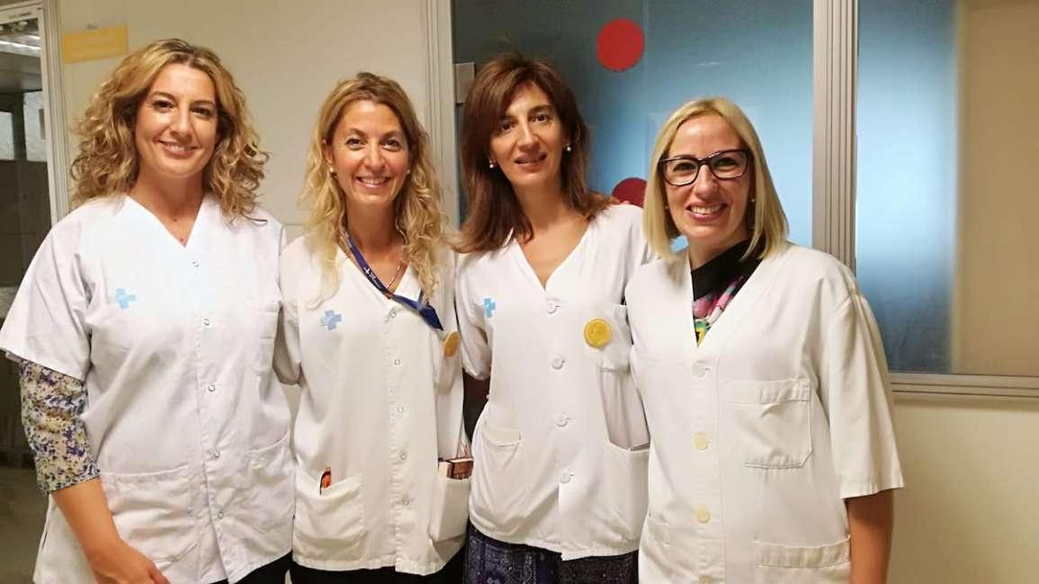 Visita a la unidad de Salud Mental Perinatal del Hospital Vall d'Hebrón