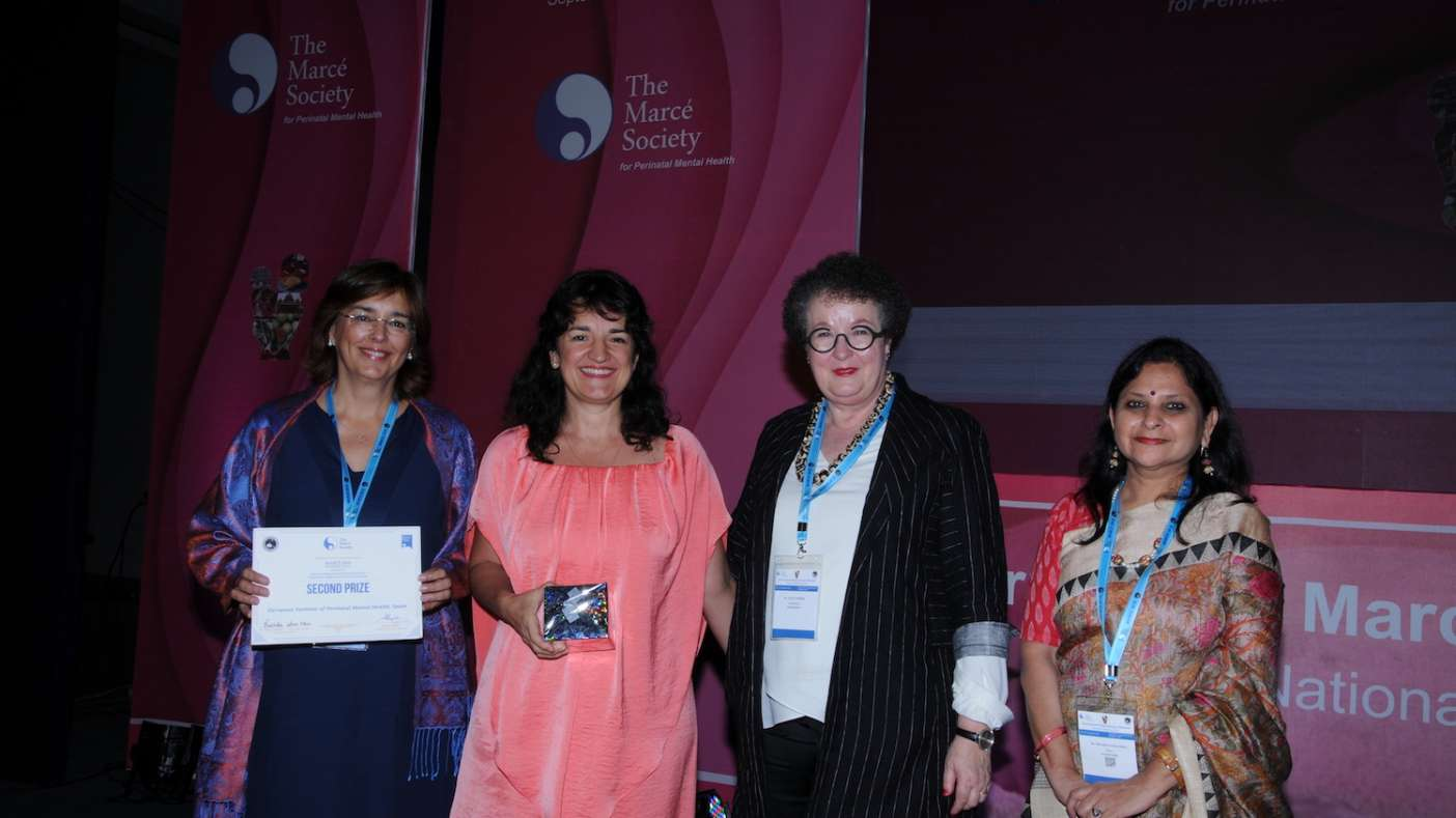 Premio de la International Marcé Society y la fundación White Swan al Instituto Europeo de Salud Mental Perinatal