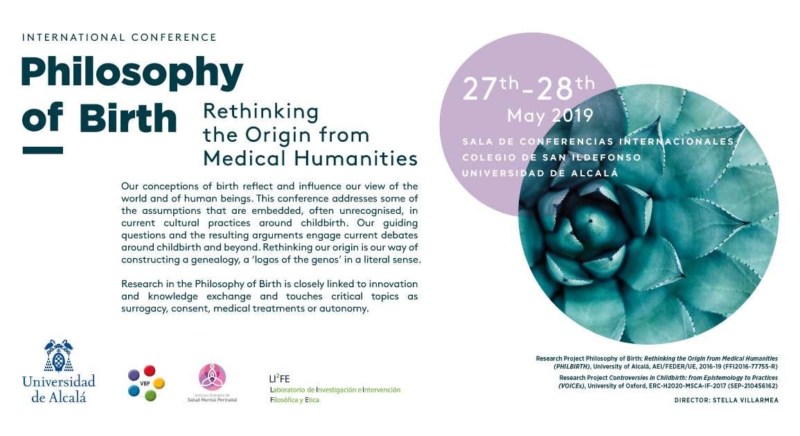 PHIL-NAC: Congreso Internacional de Filosofía del Nacimiento | Universidad de Alcalá de Henares