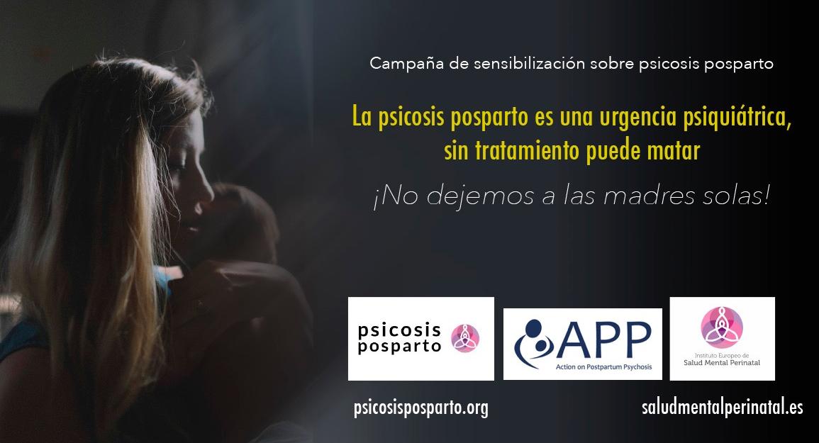 Campaña de sensibilización sobre psicosis posparto