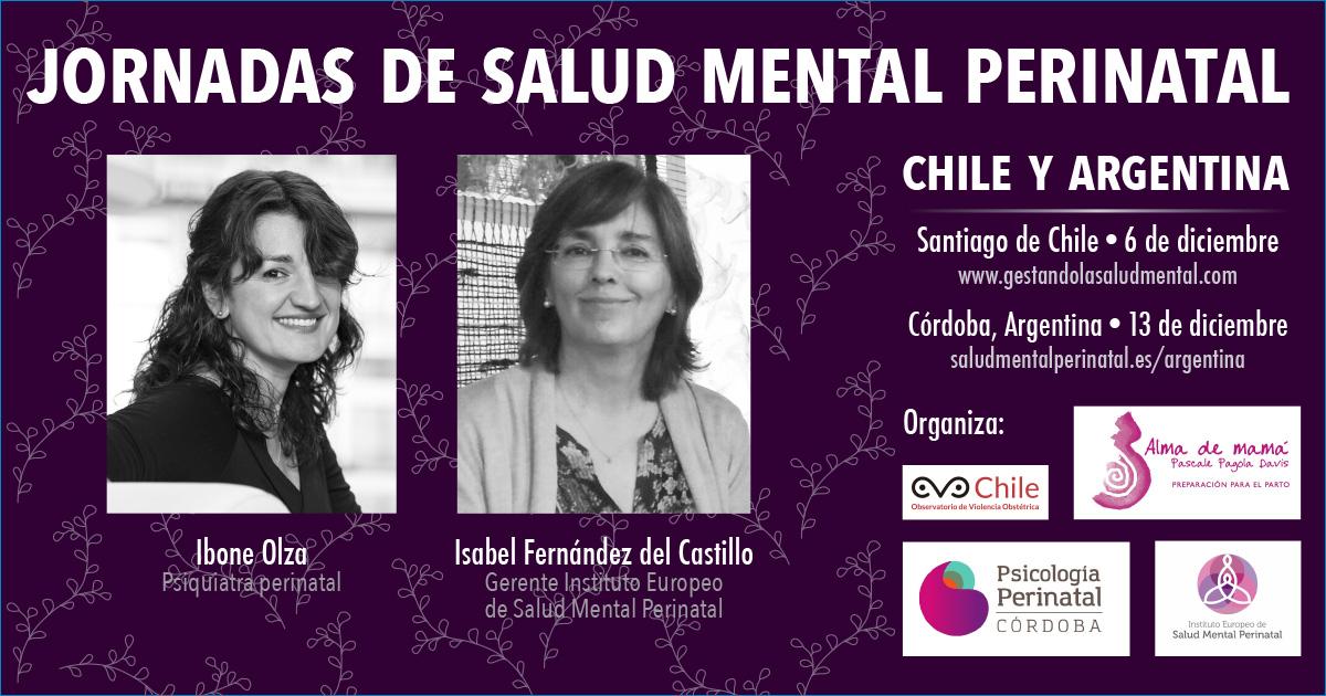 Jornadas Salud Mental Perinatal en Chile y Argentina