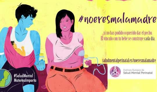 #noeresmalamadre si no has podido o querido dar el pecho. El vínculo con tu bebé se construye cada día