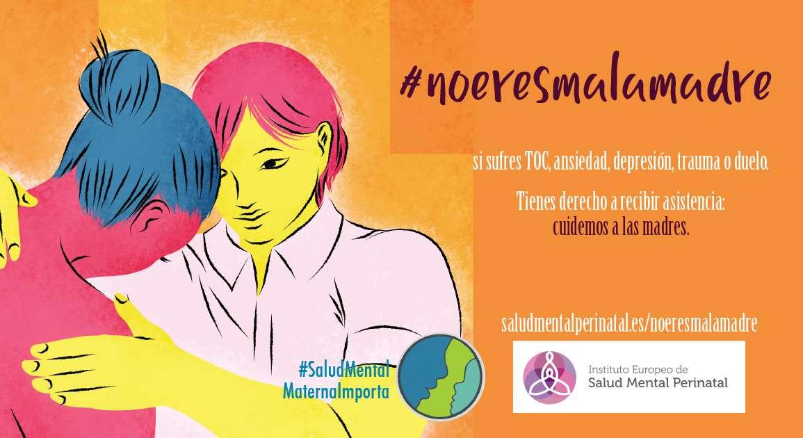 #noeresmalamadre si sufres TOC, ansiedad, depresión, psicosis, trauma o duelo. Tienes derecho a recibir asistencia: cuidemos a las madres