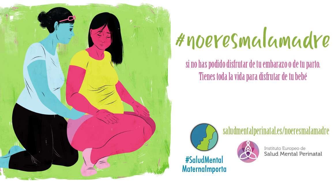 #noeresmalamadre si no has podido disfrutar de tu embarazo o de tu parto. Tienes toda la vida para disfrutar de tu bebé.