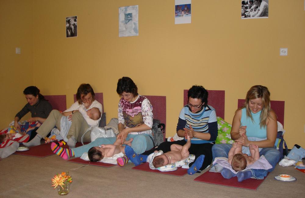 Masaje infantil: el contacto que nutre los vínculos