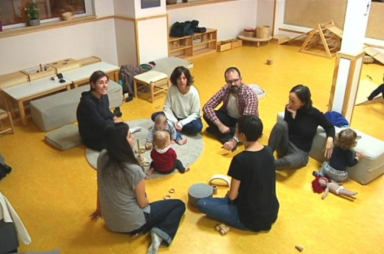 Grupo de apoyo entre madres: también para el destete